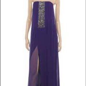 BCBG Maxazria, long evening gown, size 4